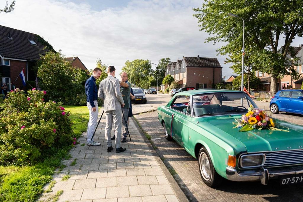 Trouwfotograaf Urk kleurrijke trouwfoto's