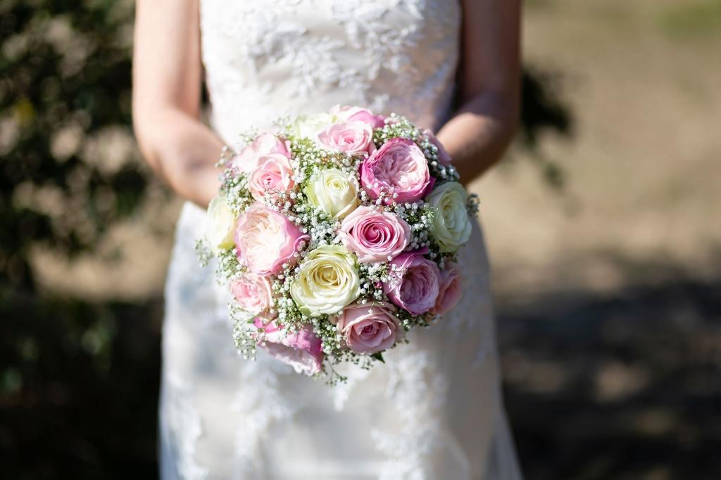 Trouwbloemen rozen