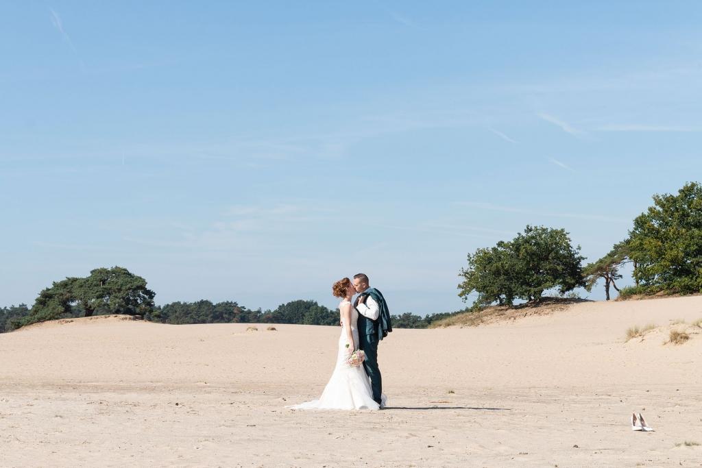 Loveshoot zandverstuiving Doornspijk