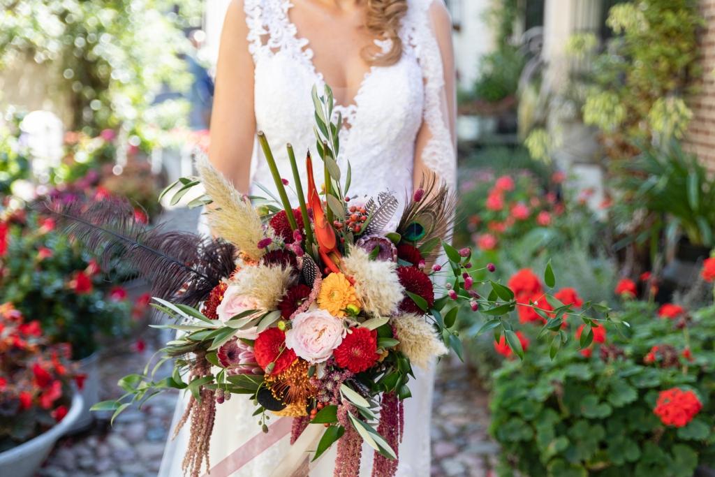 trouwen in Elburg bloemen