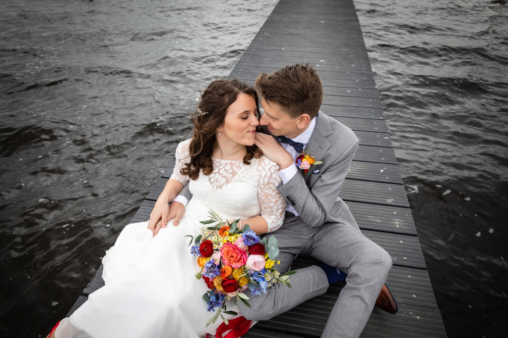 Festivalbruiloft trouwen in Kraggenburg Pier + Horizon