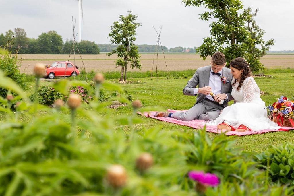 Bruiloft trouwfoto's Pier + Horizon