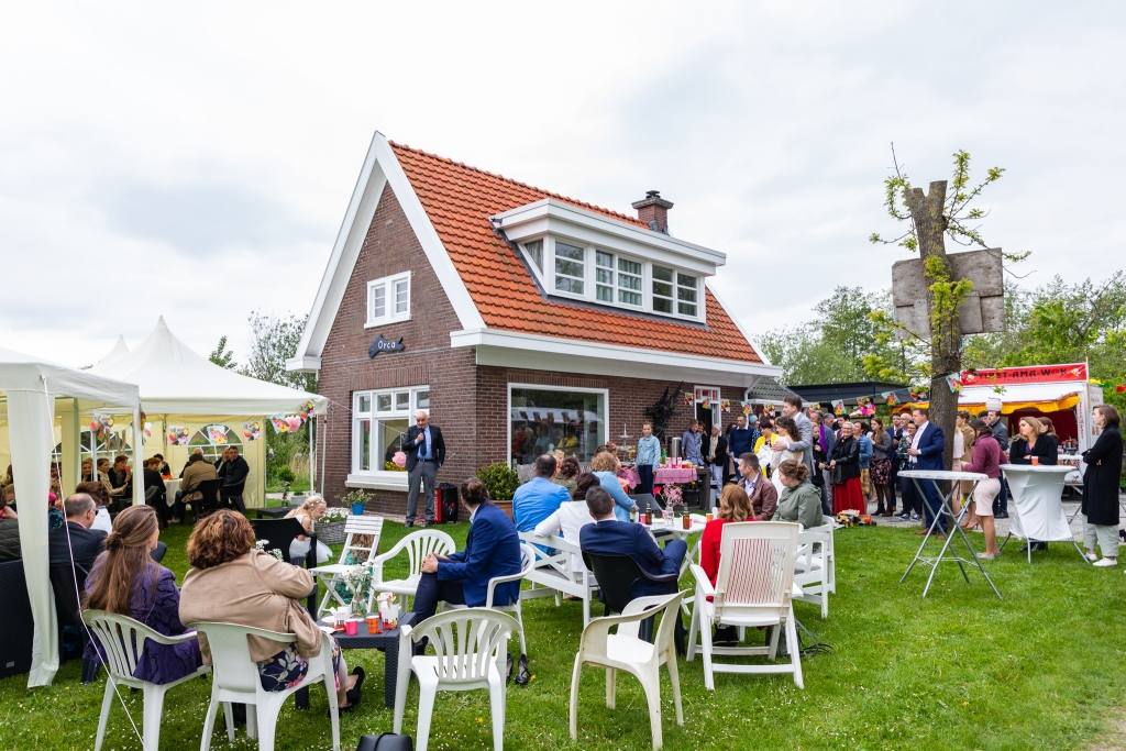 Festival bruiloft Munnekeburen