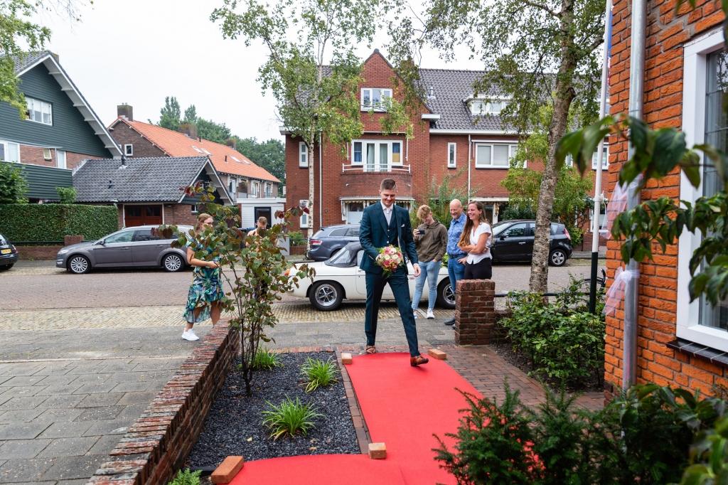 Trouwreportage Kampen Stadspark Kampen